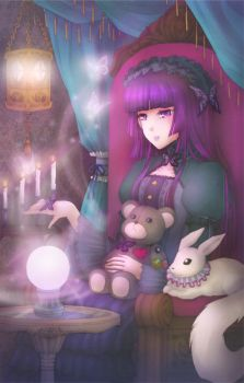 The Fortune Teller by the-chocoholic-girl