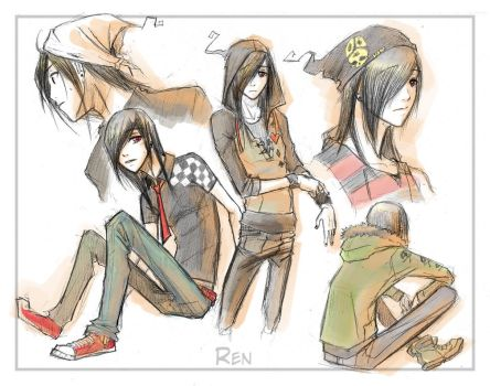 :SD Fashion Guide: Ren by Dyemelikeasunset