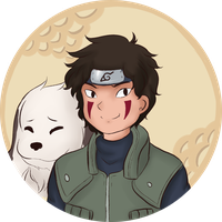 Commission: Kiba Inuzuka by ColombianTwat