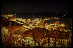Stillwater night HDR by simpspin