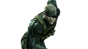 MGS4 Snake Render by Squall-Darkheart