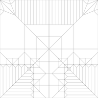 Paraglider Crease Pattern by Cahoonas