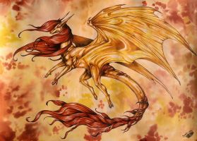 Golden Dragon by Natoli
