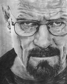 Breaking Bad-Mr. White- Bryan Cranston by bclara88