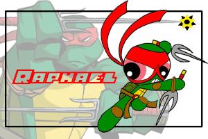 TMNT the PPG style-Raph by Porn1315