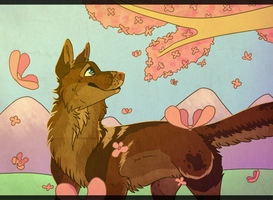 Cherry Blossoms by BananaFlavoredShroom