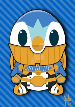 Kamen rider Piplup DX by everTEARS