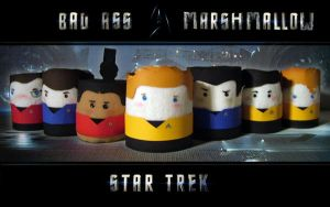 Enterprise Crew as Mashmallows by taliep
