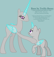 MLP Base 265 - 'Your time will come' by Twiily-Bases