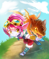 Dragon Trainer Tristana by MizoreAme