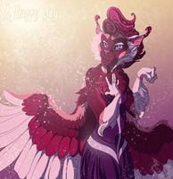 A happy day by Chaluny