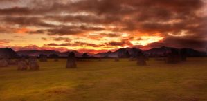 Castlerigg stormy sunset by chrispye77