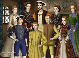 AU 2 Philip II of Spain and Elizabeth Valois by TFfan234