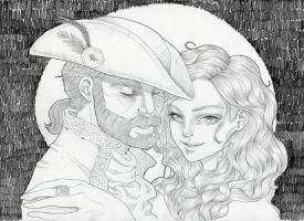 Pirates in Love by heycheri