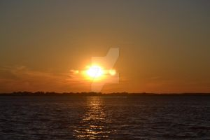Sunset on Jamaica Bay by ArtieWallace