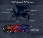 Night Cherrub Pet Dragon by Meykka