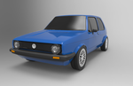 Volkswagen Golf by Boowho1997