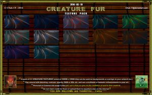 R+S: TEXTURE PACK: CREATURE FUR by CSuk-1T