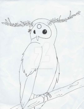 Forest owl by kidcarnival
