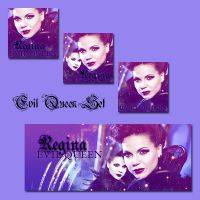 Evil Queen Set by JacobBlacksPrincess