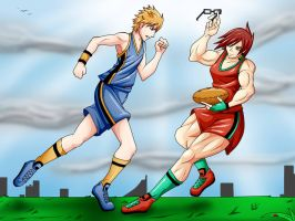 007 - Playing Rugby by foolish-me-1232