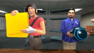 Pitchmen Rivalry-Gmod by Ryu-Gi