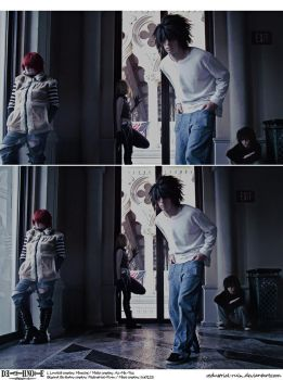Death Note Cosplay: Wammy House:When We Were Young by Redustrial-Ruin
