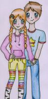 First comes love.... by Maddie-Pie