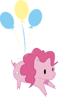 pinkie pig by kittyemily