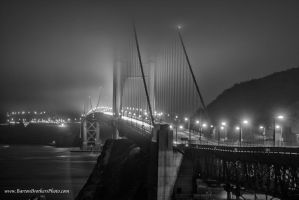 Foggy Golden Gate by Bartonbo