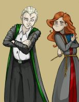Rosie and Scorpius by Azalea-Jones