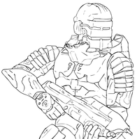 The Deadliest Halo 3 Armor by Methados