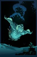 abe sapien colors by Nexxorcist