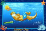 Lutharie Swimming on Deep! by SagaFantasticArt30