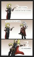 MerVengers: TO ASGARD by Star-Jem