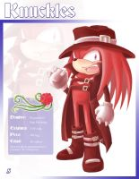 Knuckles Dark Prince Artwork by Vay-demona