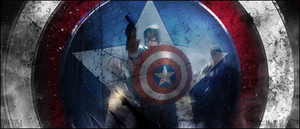 Captain America by GamerX54