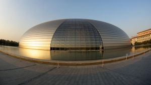 Beijing Grand Theatre by uncle-sam-hk