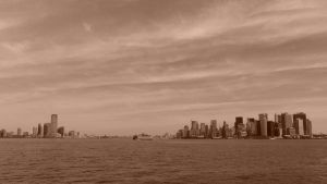 NYC Harbor by sympatheic-darkness