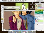 Fondo Sasu Naru by Poline-MoonLight
