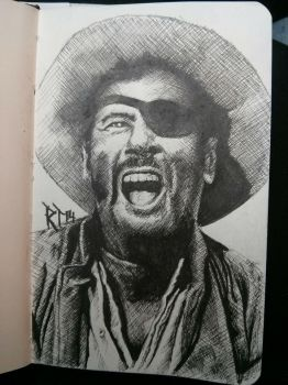 The Ugly Eli wallach by P3laton3