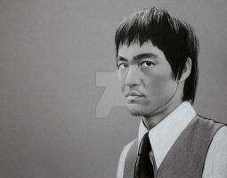 Bruce Lee by PassionDraw