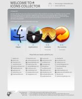 Icon Collector Web Site by ncrow