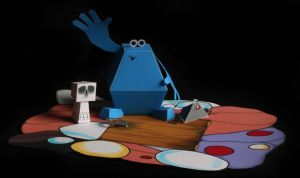 The trap door easy build model by Wadyface
