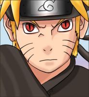 Naruto's face by Yusyus