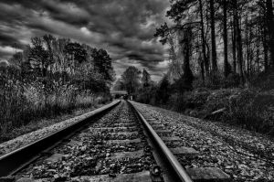 Tracks goes on. by andymartz08
