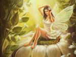 pin up fairy wallpaper by ftourini