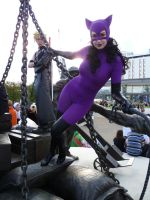 Purple Catwoman 1 by ghosttrin