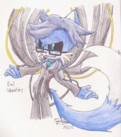 Evil Wheatley the Fox by Junka-speed