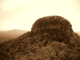 The Pinnacle at Pilot Mountain by drrckmtthws